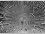 Blackwall Tunnel Interior of the Tunnel During Construction Photographic Print
