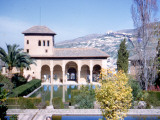 One of the Thirteen Towers at the Alhambra in Granada, Spain Photographic Print by Vanessa Wagstaff