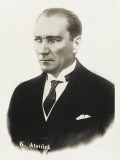 Mustafa Kemal Ataturk (1881 - 1938) Photographic Print
