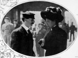 A Steward and Stewardess, Surviving Crew of the Titanic Photographic Print