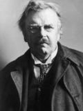 Portrait of G. K. Chesterton Photographic Print