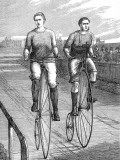 Bicycle Race at Lillie Bridge, 1875 Photographic Print