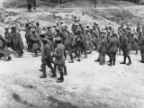 French Prisoners Captured by German Soldiers on the Western Front During World War I Photographic Print by Robert Hunt
