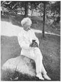 Mark Twain Is Very Fond of Pets, Especially Kittens' Photographic Print