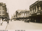 Hay Street in Perth, Western Australia Photographic Print