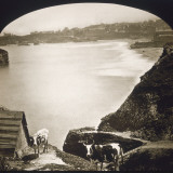 Biarritz: View of the Bay from the Lighthouse Photographic Print