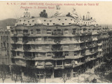 Barcelona: Gaudi's Casa Mila, Paseo De Gracia Photographic Print