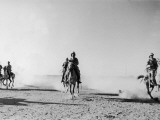 Mounted Troops in Iraq Photographic Print