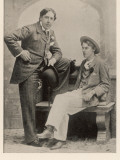 Lord Alfred Bruce Douglas Writer, with Oscar Wilde in 1894, at Age 24 Photographic Print