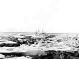 Discovery' in the Pack Ice, Antarctica, 1902 Photographic Print