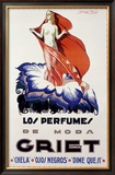 Griet, Los Perfumes de Moda Framed Giclee Print by Achille Luciano Mauzan
