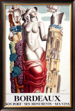Bordeaux Framed Giclee Print by Jean Dupas