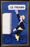Le Figaro Framed Giclee Print by Raymond Savignac