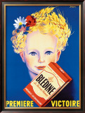 Bledine Framed Giclee Print by P. Bellanger