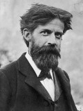 Sir Patrick Geddes Scottish Biologist and Sociologist; Active in City Planning, Giclee Print