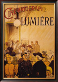 Cinematographe Lumiere Framed Giclee Print by H. Brispot