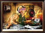 DJ Frank Print by Adam Perez