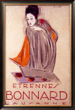 Bonnard Framed Giclee Print by Charles Loupot