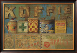 Koffie Prints by Manuel Hughes