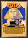 Royal Typewriter Company Framed Giclee Print