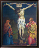 The Crucifixion Art by Matthias Gruenewald