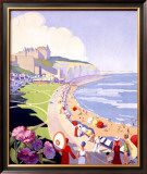Dieppe Framed Giclee Print by Suzanne Hulot