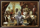 Last Supper Art by Cornell Barnes