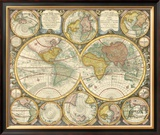 Antique World Globes Art
