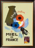 Miel de France Framed Giclee Print by Simone Galpin