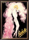 Barbette Framed Giclee Print by Charles Gesmar