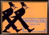Novelta Cigaretten Framed Giclee Print by Lucian Bernhard