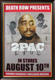 Tupac Live Poster