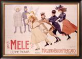 E&A Mele Framed Giclee Print by Acheille Beltrame