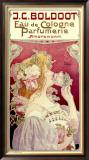 Boldoot Cologne Perfume Framed Giclee Print