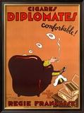 Diplomate Cigar Framed Giclee Print