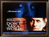 Don't Say A Word Posters