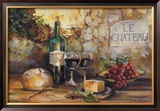 Le Chateau Print by Marilyn Hageman