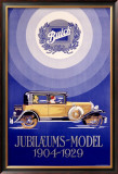 Jubilaeums Model Buick Framed Giclee Print
