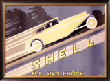 Shell, Anti-Knock Framed Giclee Print by Yunge