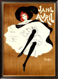 Jane Avril Framed Giclee Print by Maurice Biais