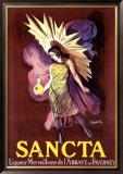 Sancta, Liqueur Merveilleuse Framed Giclee Print by Leonetto Cappiello