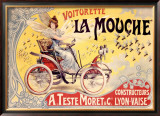 La Mouche Framed Giclee Print by Francisco Tamagno
