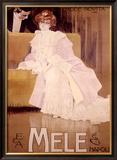 E&A Mele, Mode Novita Framed Giclee Print by Leopoldo Metlicovitz