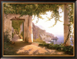 Amalfi Cappuccini Posters by Carl Frederic Aagaard