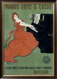 Pianos Ortiz & Cusso Framed Giclee Print by Leonetto Cappiello