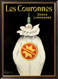 Les Couronnes, Sodas Limonades Framed Giclee Print by Leonetto Cappiello