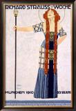 Richard Strauss Woche Framed Giclee Print by Ludwig Hohlwein