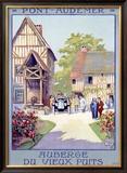 Pont-Audemar Framed Giclee Print by  Alo (Charles-Jean Hallo)