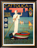 Cattolica Boat Framed Giclee Print