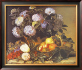 Hydrangea in an Urn Poster by Johan Laurentz Jensen